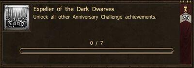 Achievement-Expeller of the Dark Dwarves