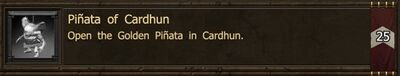Achievement-Pinata of Cardhun