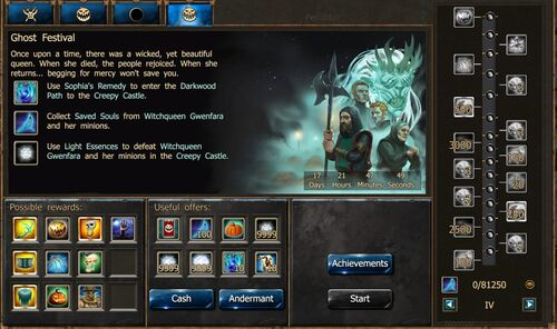 Ghost Festival IV - event window