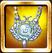Silver Helios Amulet Icon
