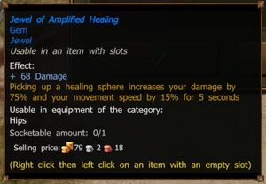 Jewel of Amplified Healing (Magic)