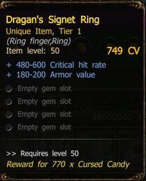 Dragan's Signet Ring