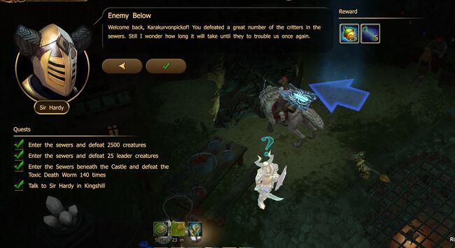 Enemy Below N1 end