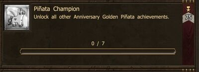 Achievement-Pinata Champion