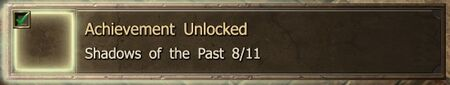 Shadows of the Past 8-11 end Achievement