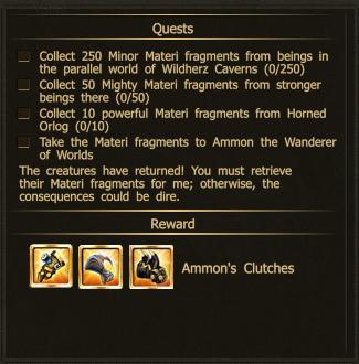 Clutch ammon