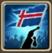 Festive Flag (Iceland) Icon