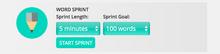Word Sprint Example