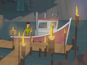 Episodio 1 de Drama Total Isla Wawaitew - Raúl en el bote