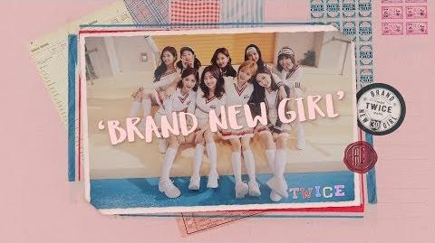 TWICE - BRAND NEW GIRL