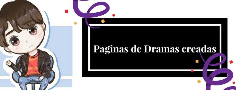 Paginas de Dramas Creadas