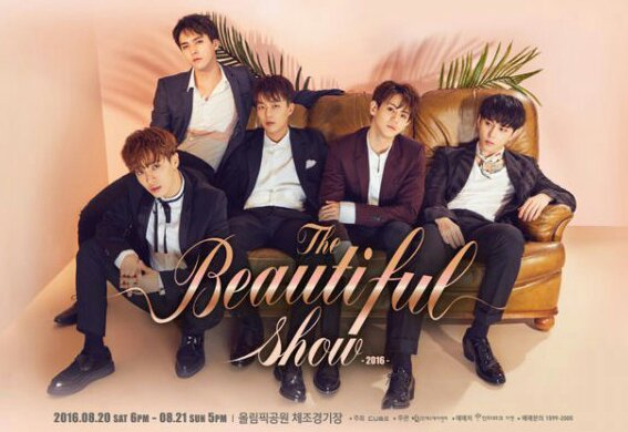 BEAST - The Beautiful Show 2016