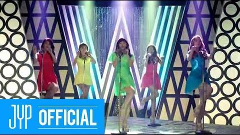 "Wonder Girls ""Nobody ~(あなたしか見えない ~) (Japanese ver"