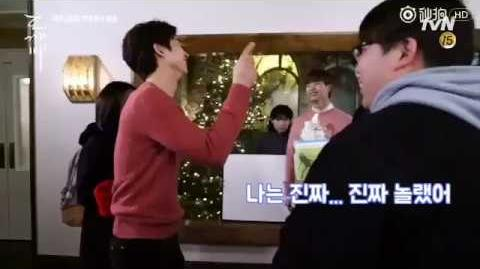 "【The Guardian EP 7 Behind the Scenes】Lee Dong Wook says ""I Love you"" to Gong Yoo"
