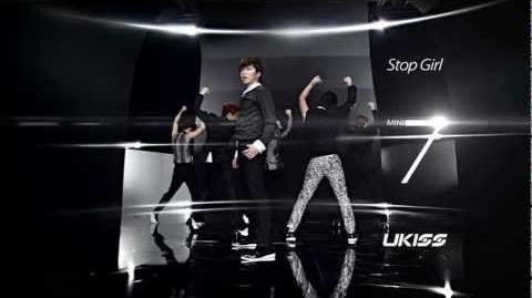 U-KISS 'Stop Girl' M V Color Full ver.