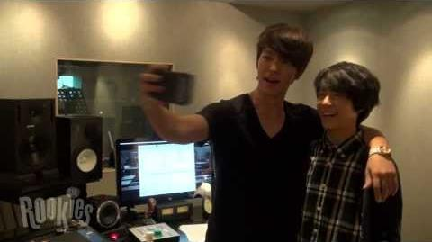 SMROOKIES JENO 제노 with DONGHAE SELF CAM-0
