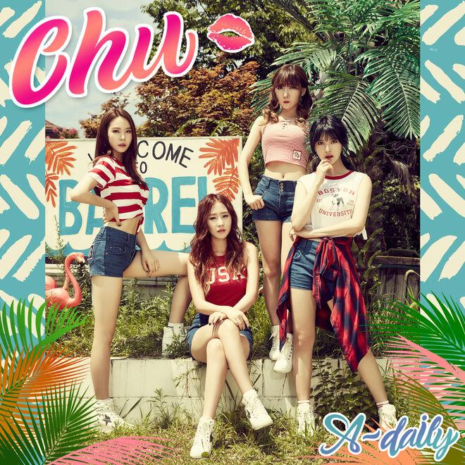 A-Daily 1st Mini Album 'Chu'