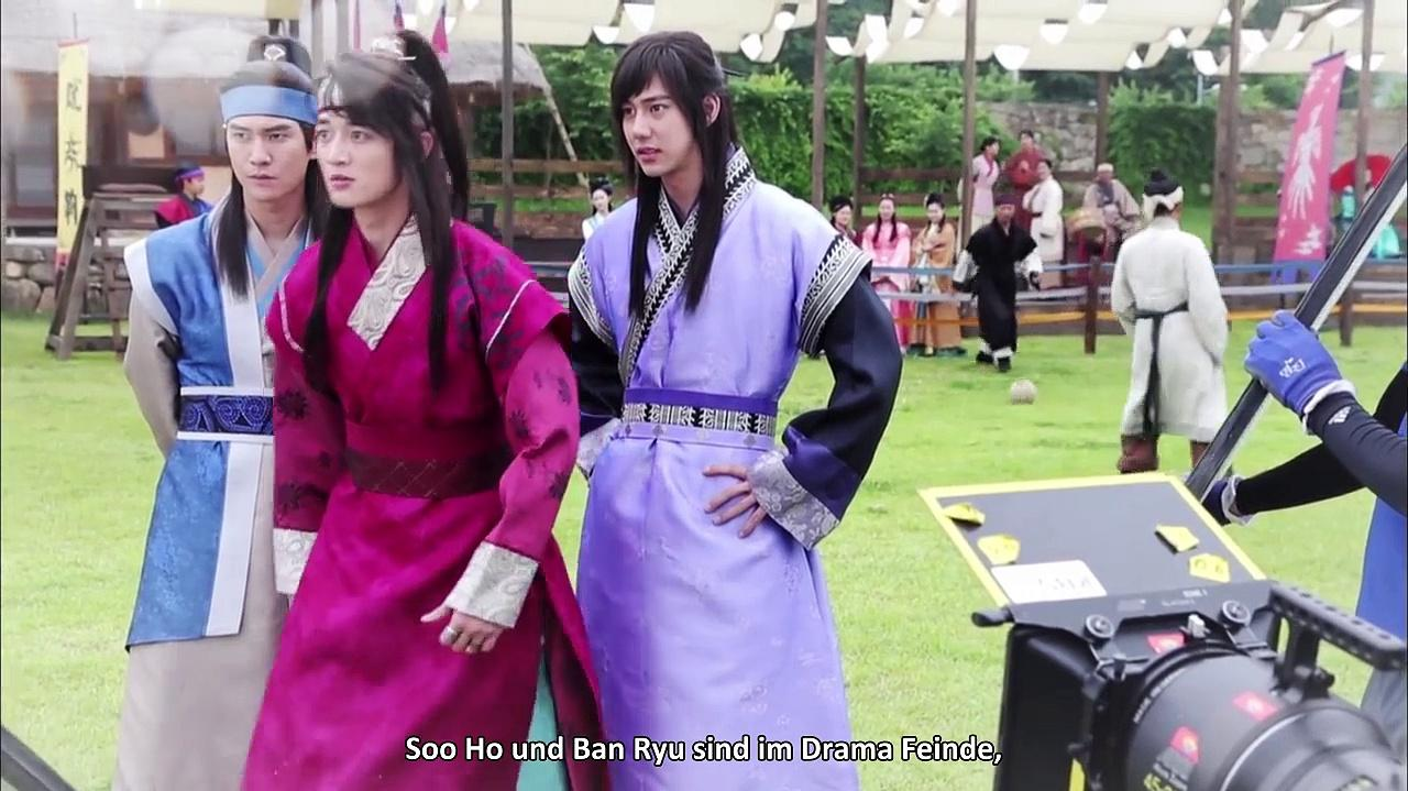 The Behind Story of HWARANG German Subs