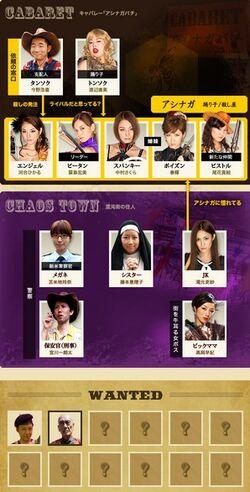Koroshi no JooubachiTVTokio2013-Cast