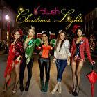 Blush christmas lights