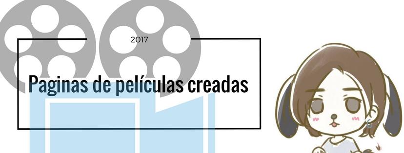 Paginas de películas creadas