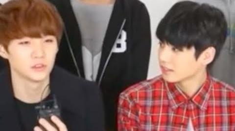Jungkook Staring Intensely at Yoongi Compilation