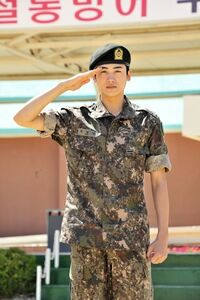 Park Hyung Sik soldier