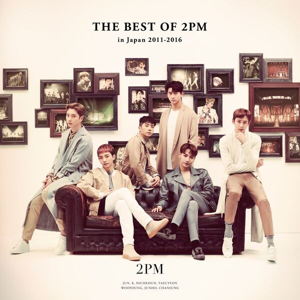 2PM - THE BEST OF 2PM in Japan 2011-2016