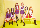 APRIL Oh-e-oh group promo photo (Special A)