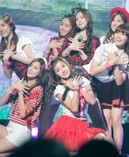 A Pink at the GSL Season 5 Code S Final Performance, 10 September 2011 03