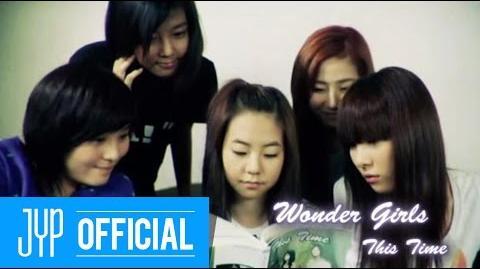 """Wonder Girls """"This time"""" M V"""