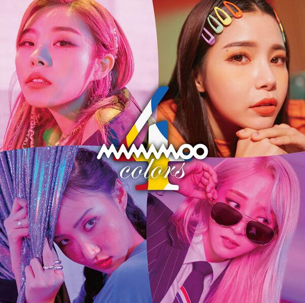 MAMAMOO - 4colors (Regular Edition)