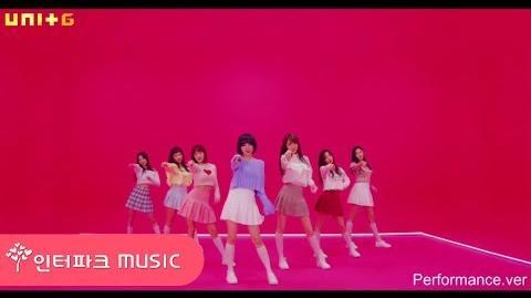 M V THE UNI+ G (블루밍) - Always (Performance Ver
