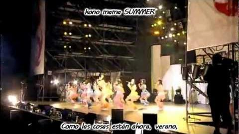 SKE48 - Gomen ne, summer (Live) Sub español Romani lyrics