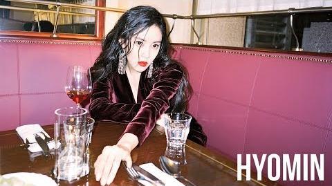 효민 HYOMIN '입꼬리' MV (Chinese Ver