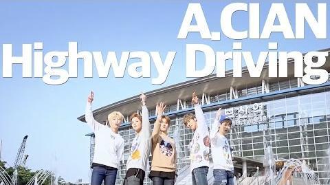 A.cian 휴게소 Highway Driving A