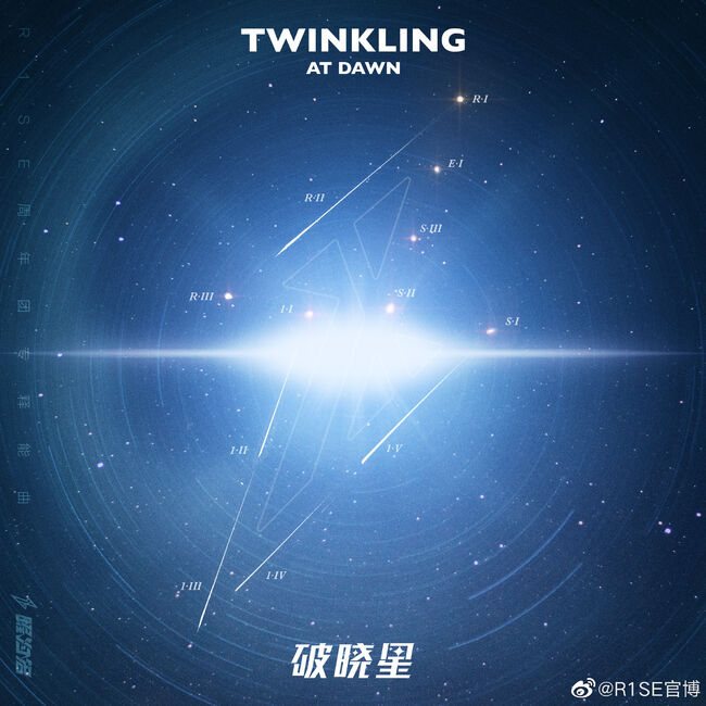R1SE - Twinkling at dawn-CD