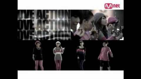 Brown Eyed Girls&赵PD @ Love Action
