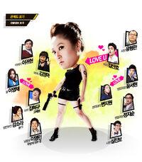 Rude Miss Young-Ae temporada 9 Cuadro