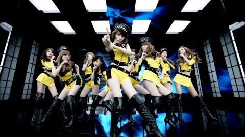 Girls' Generation - Mr Taxi (Japanese Version)
