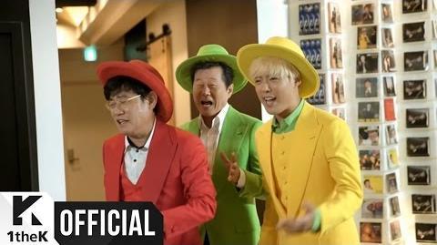 MV TAE JIN A(태진아), GANG NAM(강남) HUMAN DESTINY(사람팔자)