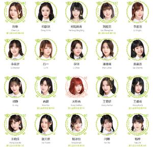 Snh48 team x integrantes