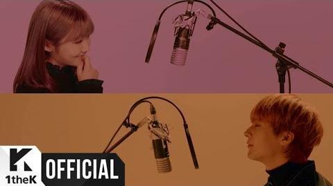 MV SON DONGWOON(손동운)(Highlight(하이라이트)) X SEORYOUNG(서령)(GWSN(공원소녀)) Color me(물들여줘)