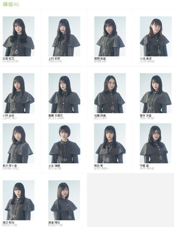 Keyakizaka46 1st Generation