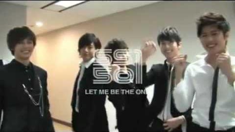 SS501 - Let Me Be The One Official Music Video HD