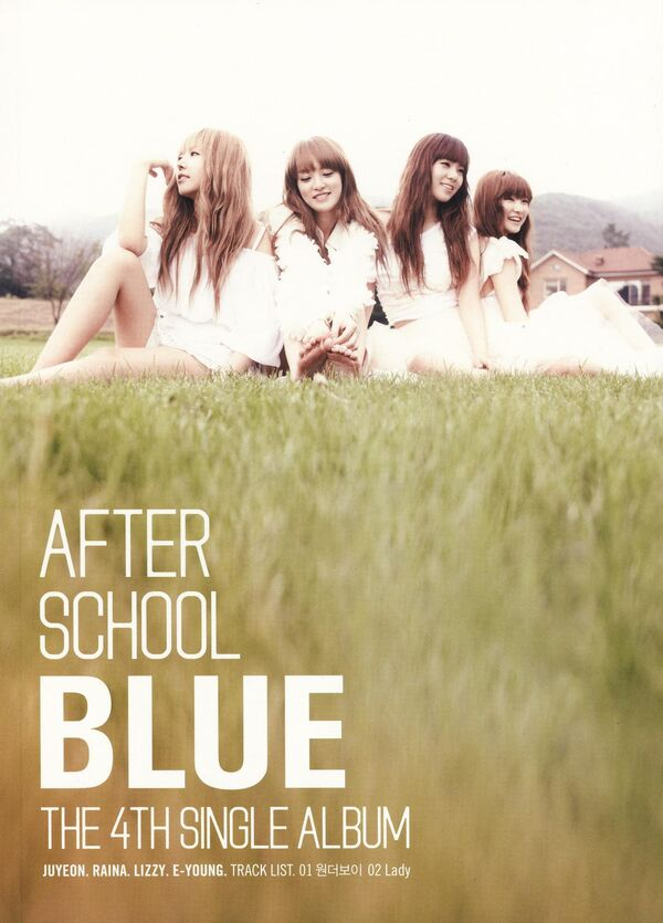AS BLUE - The 4th Single Album