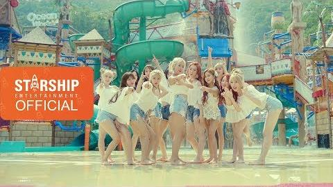 MV 우주소녀(WJSN) - KISS ME