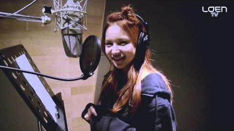 FIESTAR & Kim Yeon Woo Sweet Love (@Recording Studio)