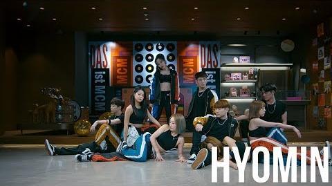 효민 HYOMIN X MCM 'MANGO' PV (Choreography ver