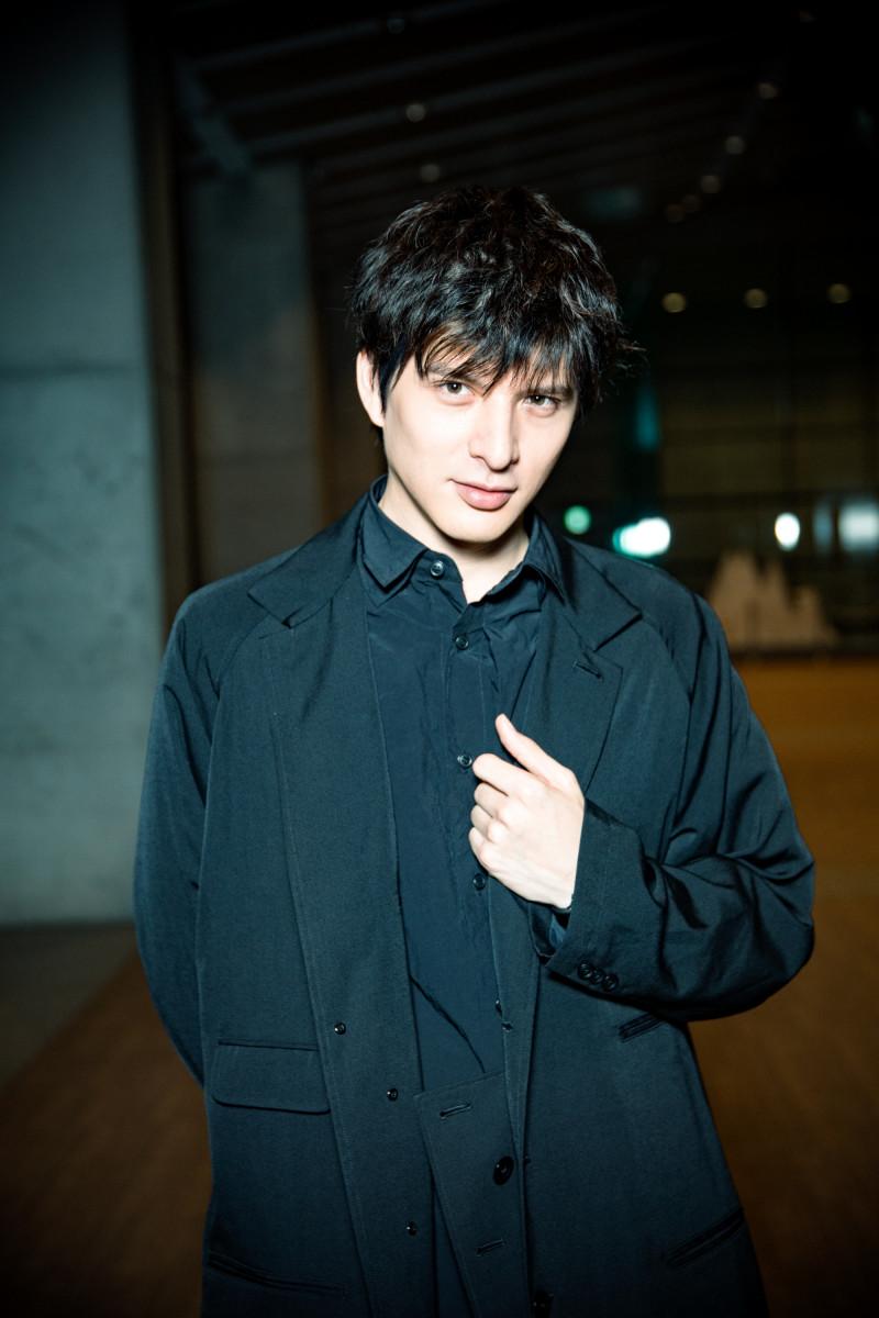 城田優の黒髪がかっこいい